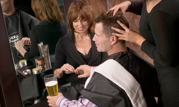 Emerson Joseph - Ballantyne West: One or Two Men's Haircuts or One or Two Haircuts with Brow Cleanup, and Mani-Pedi at Emerson Joseph (Up to 60% Off)