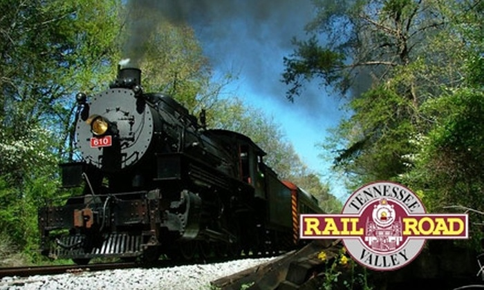 Tennessee Valley Railroad - Chattanooga: $7 for One Adult Ticket ($15 Value) or $4 for One Children's Ticket ($9 Value) for the Missionary Ridge Local on the Tennessee Valley Railroad
