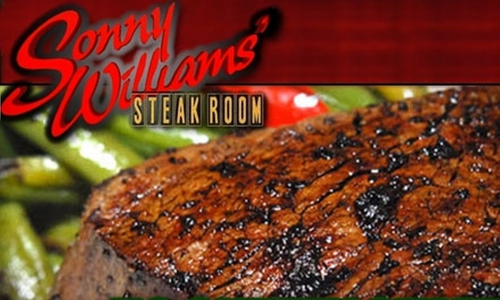 Sonny Williams' Steak Room - Downtown: $30 for $60 Worth of Steaks and More at Sonny Williams' Steak Room