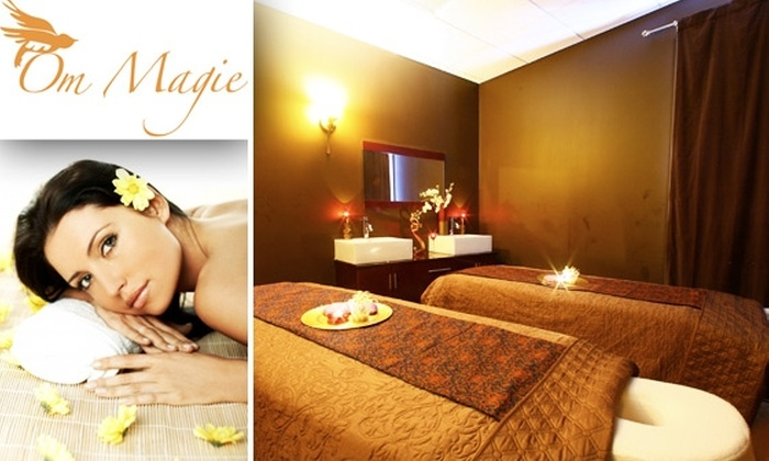 Spa Om Magie - South Tuxedo Park: $65 for 2 Swedish Massages or 2 Microdermabrasion Sessions at Spa Om Magie