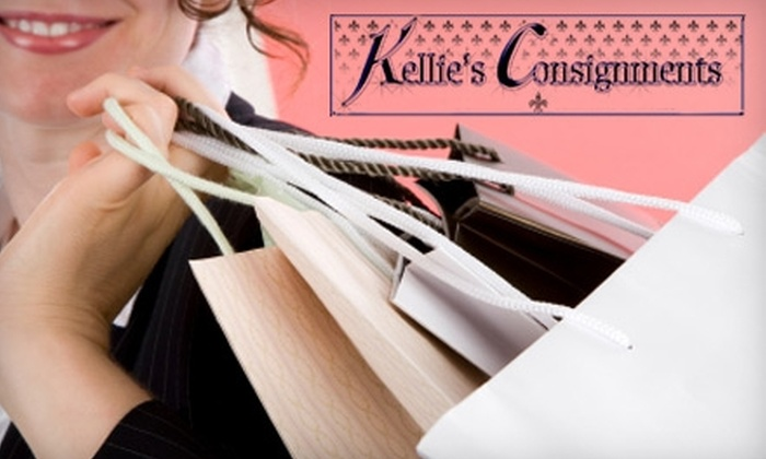 Kellie's Consignments - Multiple Locations: $10 for $20 or $25 for $50 Worth of Men's and Women's Apparel, Accessories, and More at Kellie's Consignments