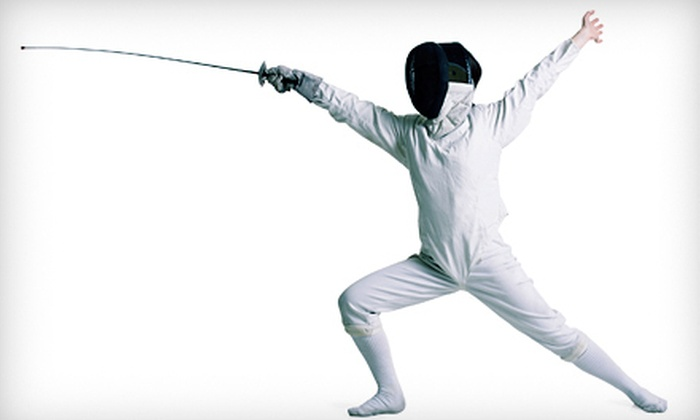 Los Angeles International Fencing Center - West Los Angeles: $39 for a Month Children's Beginners' Fencing Package at Los Angeles International Fencing Center ($175 Value)