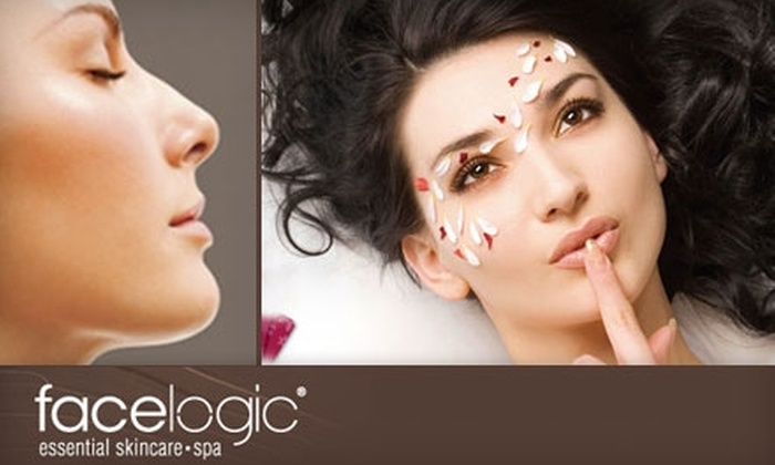 Facelogic Spa - East Windsor: $39 for a 50-minute Massage with Hydrating Body Treatment or Customized Signature Facial with Ampoule or Lip Treatment at Facelogic Spa in East Windsor (Up To $99 Value)