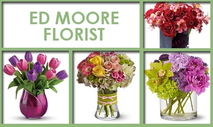 Ed Moore Florist and Greenshouse - Edgewood: $25 for $50 Worth of Flowers and More from Ed Moore Florist