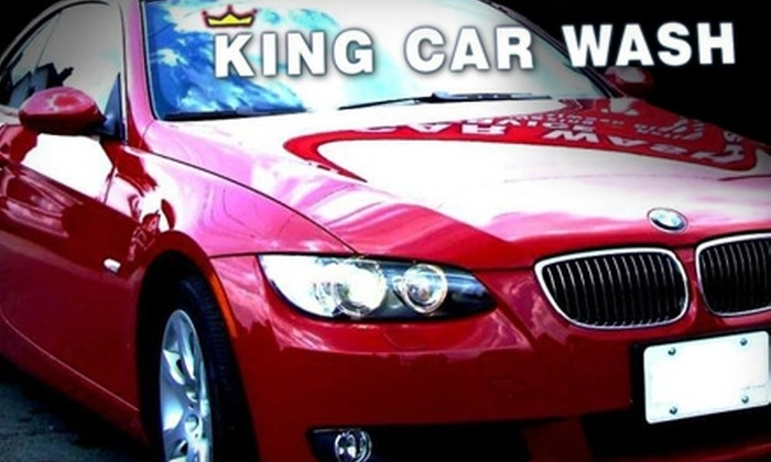 King Car Wash - Gibson: $10 for Two Exterior Washes at King Car Wash in Hamilton (Up to $24 Value)