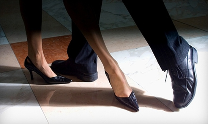 Bay West Ballroom - San Rafael: $32 for Five Beginner Ballroom-Dance Classes at Bay West Ballroom in San Rafael