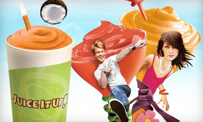 Juice It Up! - Modesto: $5 for $10 Worth of Fresh Juices, Smoothies, and More at Juice It Up!