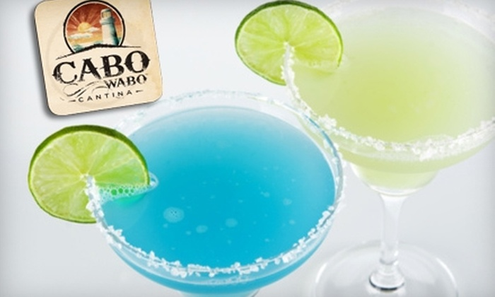 Cabo Wabo Cantina - The Strip: $15 for $30 Worth of Tex-Mex Fare and Drinks at Cabo Wabo Cantina on the Strip