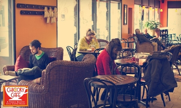 Chicory Cafe - South Bend: $3 for $6 Worth of Coffee House Eats and Beverages at Chicory Cafe