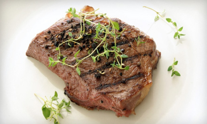 Abraham's Bar & Grille - Rochelle: Steakhouse Dinner for Two or Four or American Fare at Abraham's Bar & Grille