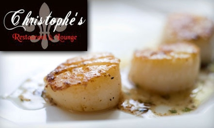 Christophe's Restaurant & Lounge - Upland: $15 for $30 Worth of French Fare and Drinks at Christophe's Restaurant & Lounge