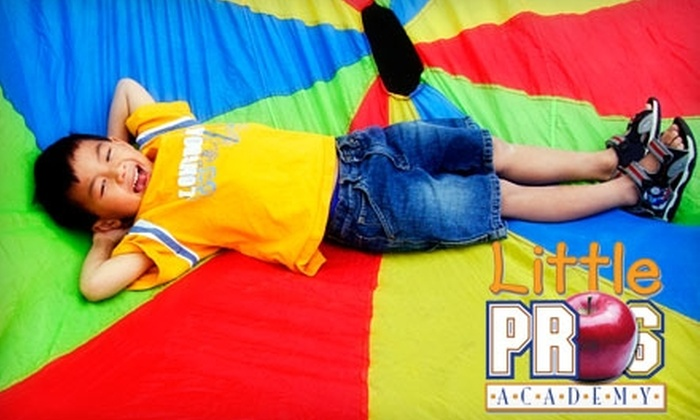 Up to 78% Off Four Weeks of Childcare at Little Pros Academy in West Cary. Choose from Five Options.