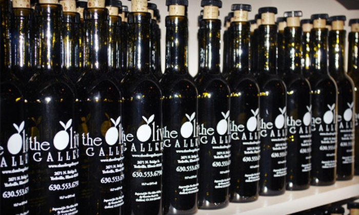 The Olive Gallery - Multiple Locations: Two Bottles of Oil and Two Bottles of Vinegar or $15 for $30 Worth of Oils and Vinegars at The Olive Gallery