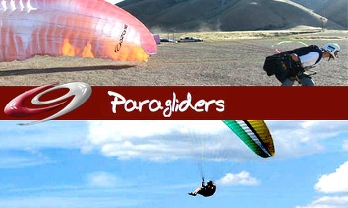 Cloud 9 Paragliding - Salt Lake City: $59 for a Tandem Paragliding Jump from Cloud 9 Paragliding ($95 Value)