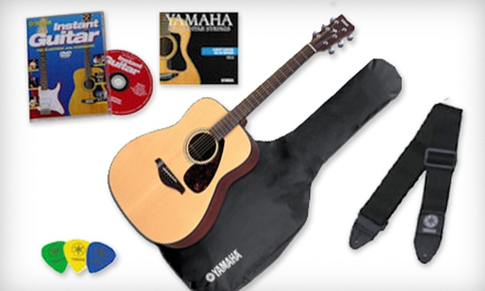 Yamaha Acoustic Guitar with Gig Bag and Accessories: $179 for a Yamaha FG700S Acoustic Guitar Bundle with Gig Bag and Accessories from Austin Bazaar ($360.94 Value) Shipping Included.