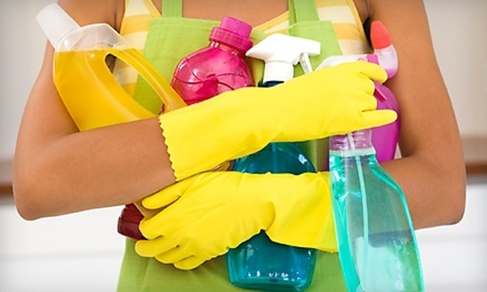 A to Z Housekeeping - Heritage District: $75 for One Hour of Home-Cleaning Services with Four Cleaners from A to Z Housekeeping ($150 Value)