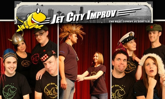 Jet City Improv - University District: $6 for One Ticket to Jet City Improv (Up to $12 Value)