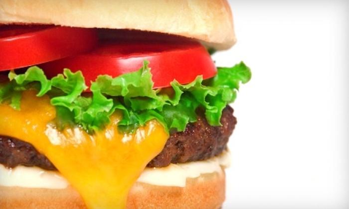 WAH-BO Grill - Shrewsbury: $6 for $12 Worth of Grilled Burgers, Burritos, and More at WAH-BO Grill