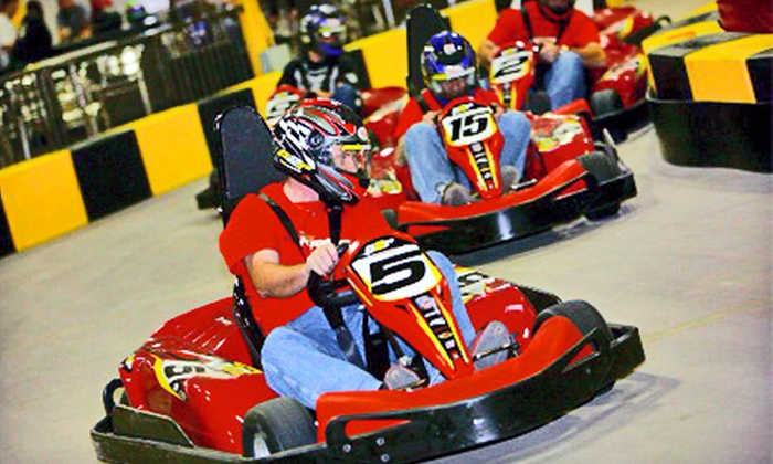 Pole Position Raceway - Multiple Locations: $29 for Three Go-Kart Races on Monday–Friday at Pole Position Raceway (Up to $59.85 Value)
