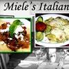 Half Off at Miele's Italian Bistro