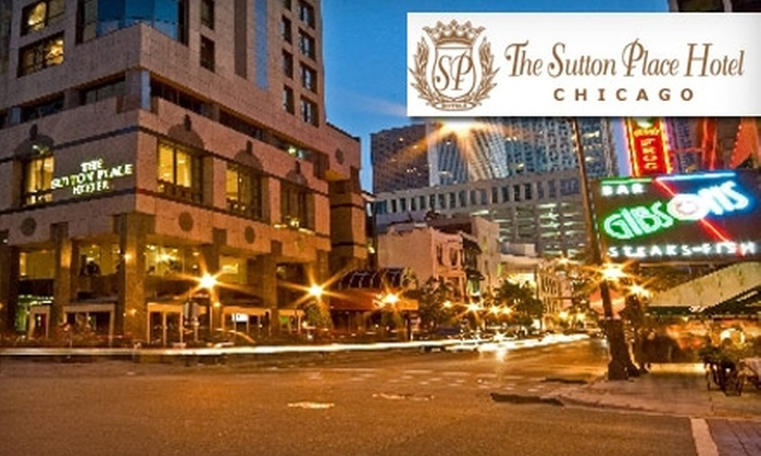 Sutton Place Hotel Chicago - Near North Side: Up to 65% Off a One-Night Stay at Sutton Place Hotel Chicago. Choose Between Two Options.