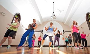 Dancing Lotus Fitness: 5 or 10 Zumba Classes at Dancing Lotus Fitness (Up to 64% Off)
