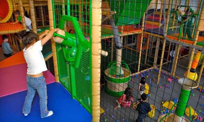 Jungle Jaks - Quail Run: Indoor Play Center General Admission and Ride for Two with Option for Food at Jungle Jaks (Up to 52% Off)
