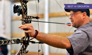Deer Creek Archery: Archery-Range Package for Two or Up to Four, or a Private Party for Eight at Deer Creek Archery (Up to 84% Off)