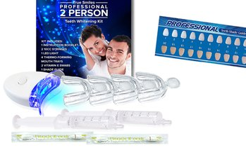 trueSmiles Professional 2 Person Teeth Whitening Kit