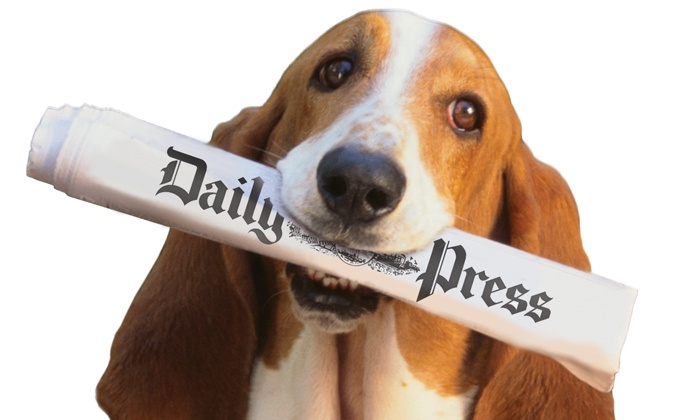 """Daily Press: Subscriptions to """"Daily Press"""" (Up to 82% Off), Two Options Available."""