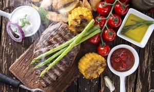 Ristorante Masaniello: 1 kg di carne mista alla griglia, più bottiglia di vino, per 2 persone al Ristorante Masaniello (sconto fino a 61%)