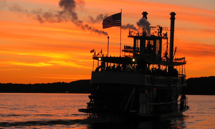 "Chautauqua Belle - Multiple Locations: Historical or Cocktail Cruise for Two from ""Chautauqua Belle"" (Up to 48% Off)"
