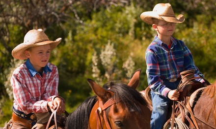 Two 60-Minute Horseback Trail Rides at Broken Bow Ranch (Up to 54% Off). Two Options Available.