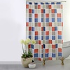 Checkered Water-Resistant Shower Curtain