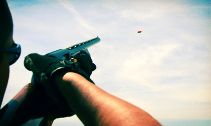 Ozark Shooters Sports Complex - Walnut Shade: $19 for 100 Sporting Clays with Eye and Ear Protection at Ozark Shooters Sports Complex ($38 Value)