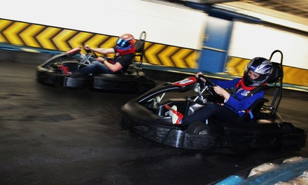 $24 for Two Eight-Minute Races at Fastimes Indoor Karting (Up to $44 Value)