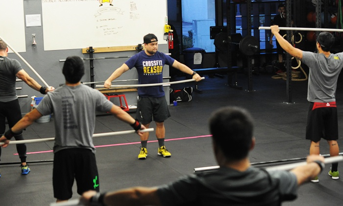 CrossFit Reason - Arcadia: Eight CrossFit LITE Training Sessions for One or Two at CrossFit Reason (Up to 74% Off)