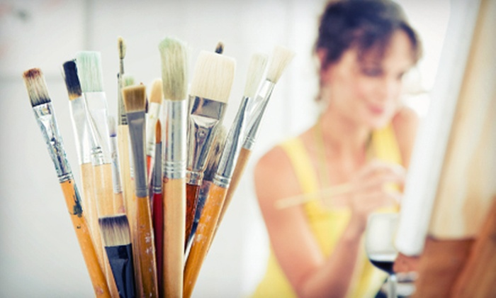Yi Yan Art Academy - Mission: $39 for BYOW Painting Class for Two at Yi Yan Art Academy ($80 Value)