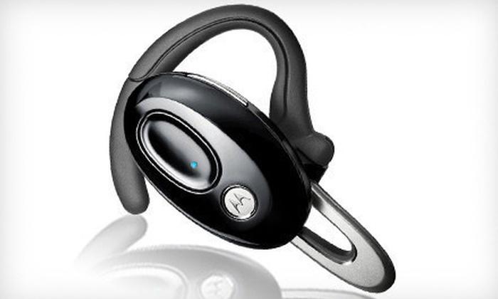 Motorola Bluetooth Headset: $29 for a Motorola Bluetooth Headset ($49.99 List Price). Free Shipping.