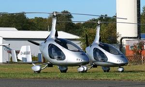 Helicopter Fly: Pilot für 1 Tag inkl. selber fliegen, Sektempfang und 3-Gänge-Menü in Ganderkesee mit Helicopter-Fly für 369 €