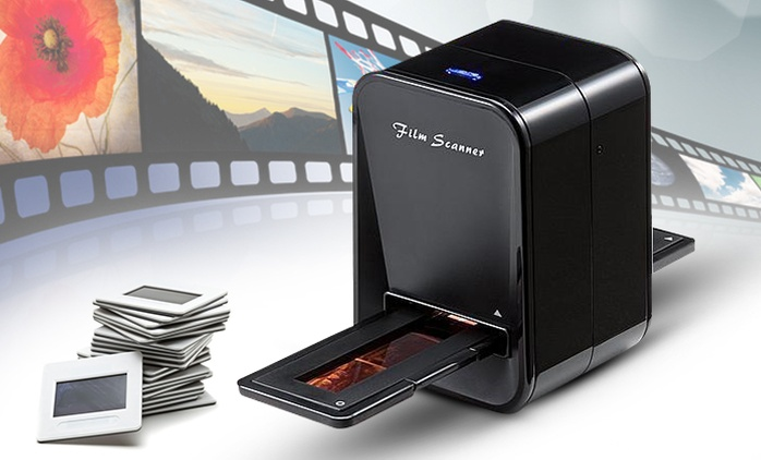 סורק דיגיטלי משולב לנגטיבים ושקופיות ברזולוציה גבוהה וחיבור USB ב-269 ₪ או מכשיר מתקדם עם אופציה להפעלה ללא מחשב ב- 369 ₪