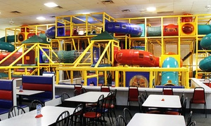 The Play Station: Super Fun Party Package or Five General Admissions at The Play Station (Up to 70% Off)