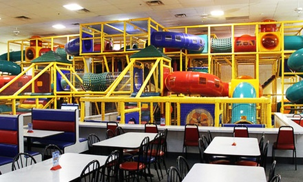 Super Fun Party Package or Five General Admissions at The Play Station (Up to 50% Off)