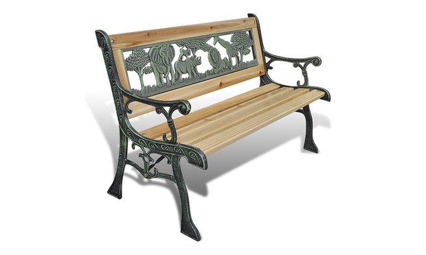 Prepossessing Garden Benches  Groupon Goods With Excellent Home Garden Bench For Children With Animal Pattern With Astounding The Hanging Gardens Of Babylon Location Also Rooftop Garden In Addition Jade Gardens Ainsdale And Tsokkos Gardens As Well As Welwyn Garden City Waitrose Additionally Rosary Gardens From Grouponcouk With   Excellent Garden Benches  Groupon Goods With Astounding Home Garden Bench For Children With Animal Pattern And Prepossessing The Hanging Gardens Of Babylon Location Also Rooftop Garden In Addition Jade Gardens Ainsdale From Grouponcouk