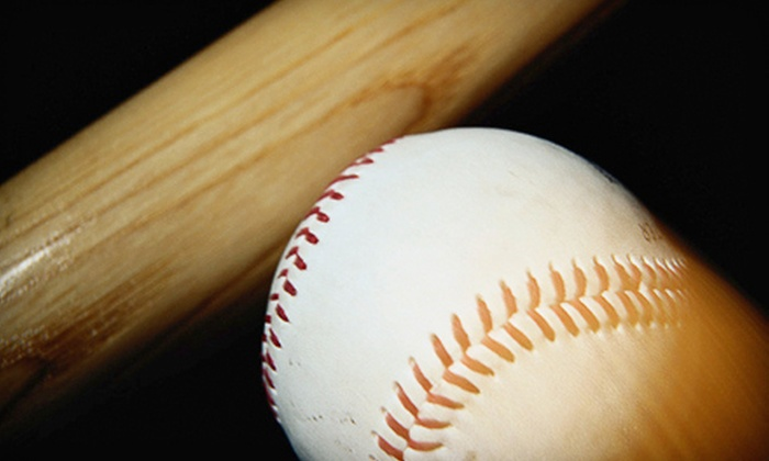 Premier Baseball Academy - Multiple Locations: 1, 5, 10, or 15 Batting-Cage Visits at Premier Baseball Academy (Up to 76% Off)