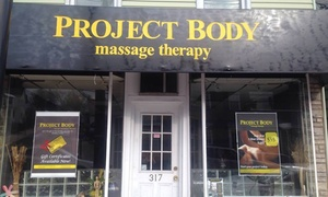 Project Body: 90-Minute Therapeutic Massage from Project Body (45% Off)