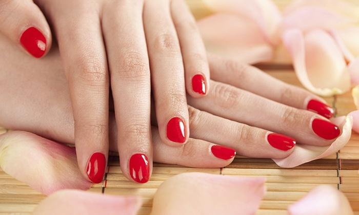 Angel Tips - Oceanside: Mani-Pedi or Gel Manicure at Angel Tips (40% Off)
