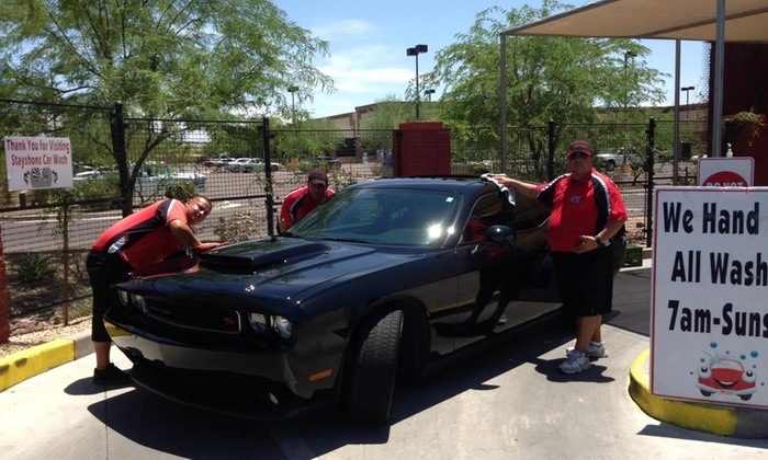 Stayshons Enterprises - Salt River: Three Car Washes at Stayshons Enterprises (52% Off)