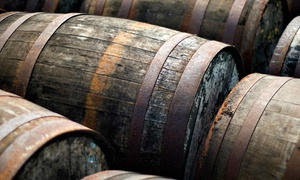 New England Distilling: Distillery Tour, Souvenir Glasses and Whiskey Disks for Two or Four at New England Distilling (41% Off)