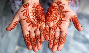Henna Mehndi By Tisha: 30-Minute Henna Art Session from Henna Mehndi By Tisha (33% Off)
